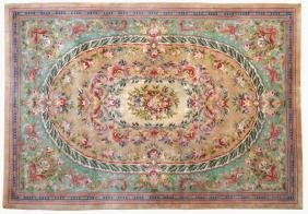 An Aubusson style carpet France, 20th century 300x210