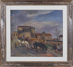 Mario Cortiello Naples 1907 - S. Sebastiano al Vesuvio
