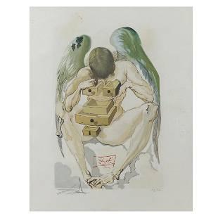 Salvador Dal Figueras 1904 - 1989 33x26 cm.
