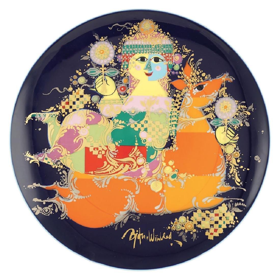 Rosenthal, Studio Line, porcelain plate Germany, 20th