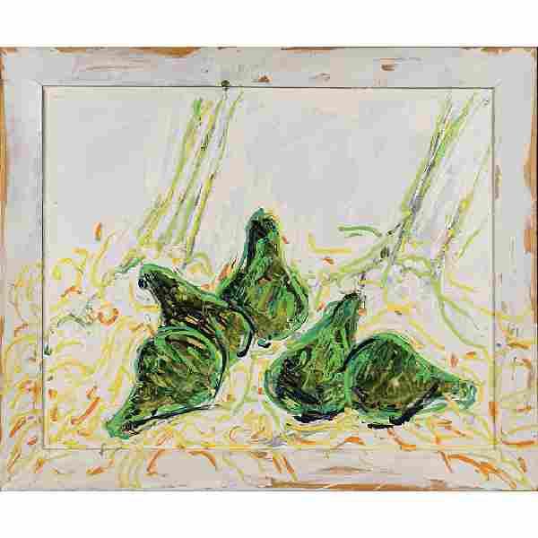 Mario Schifano Homs 1934 - Roma 1998 94x114 cm.