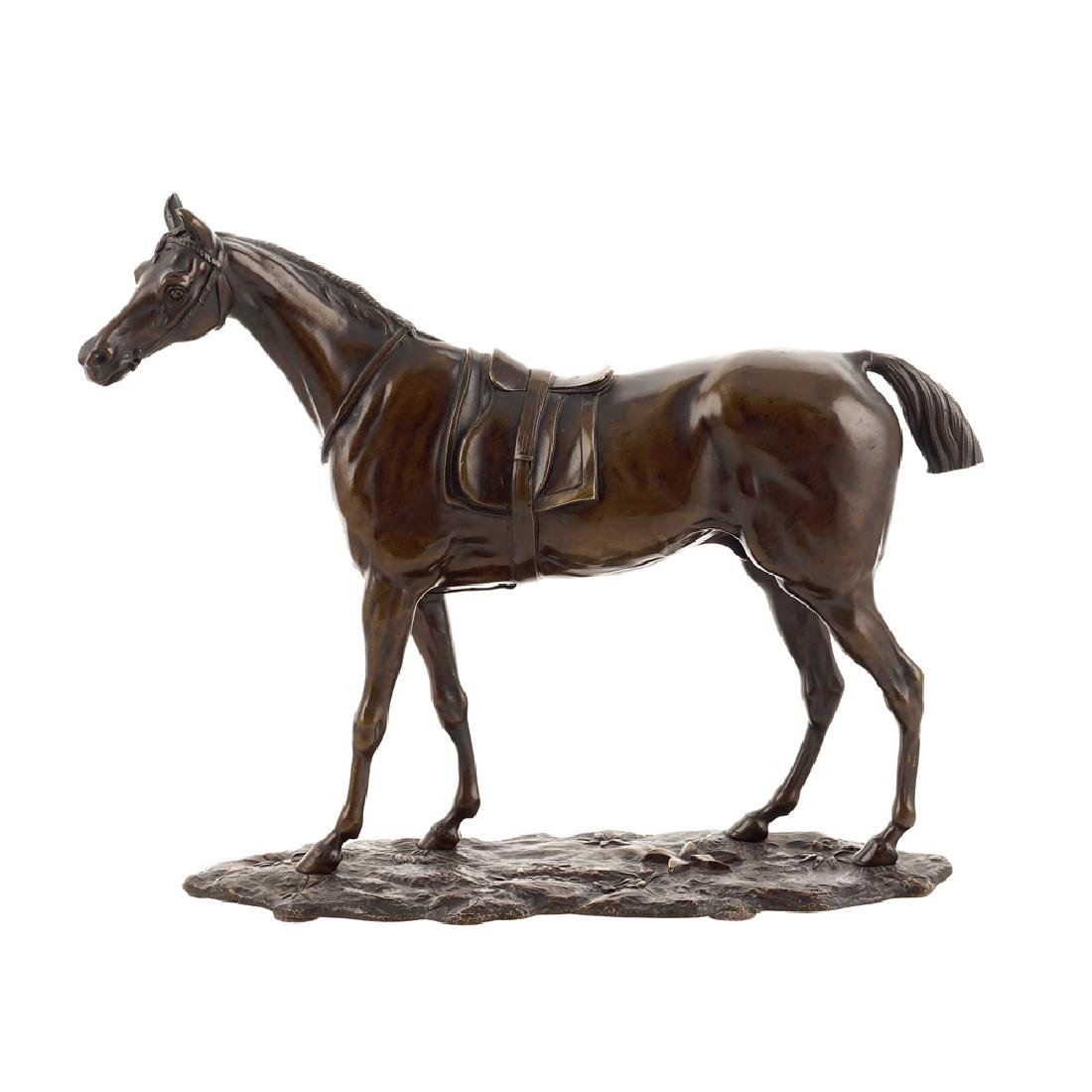 A patinated bronze sculpture France 19th century