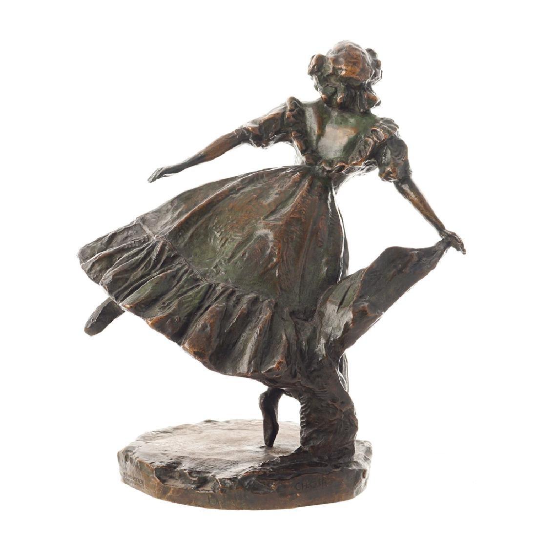 Alexis Rudier Tours 1883-1941 h. 28 cm. - 2