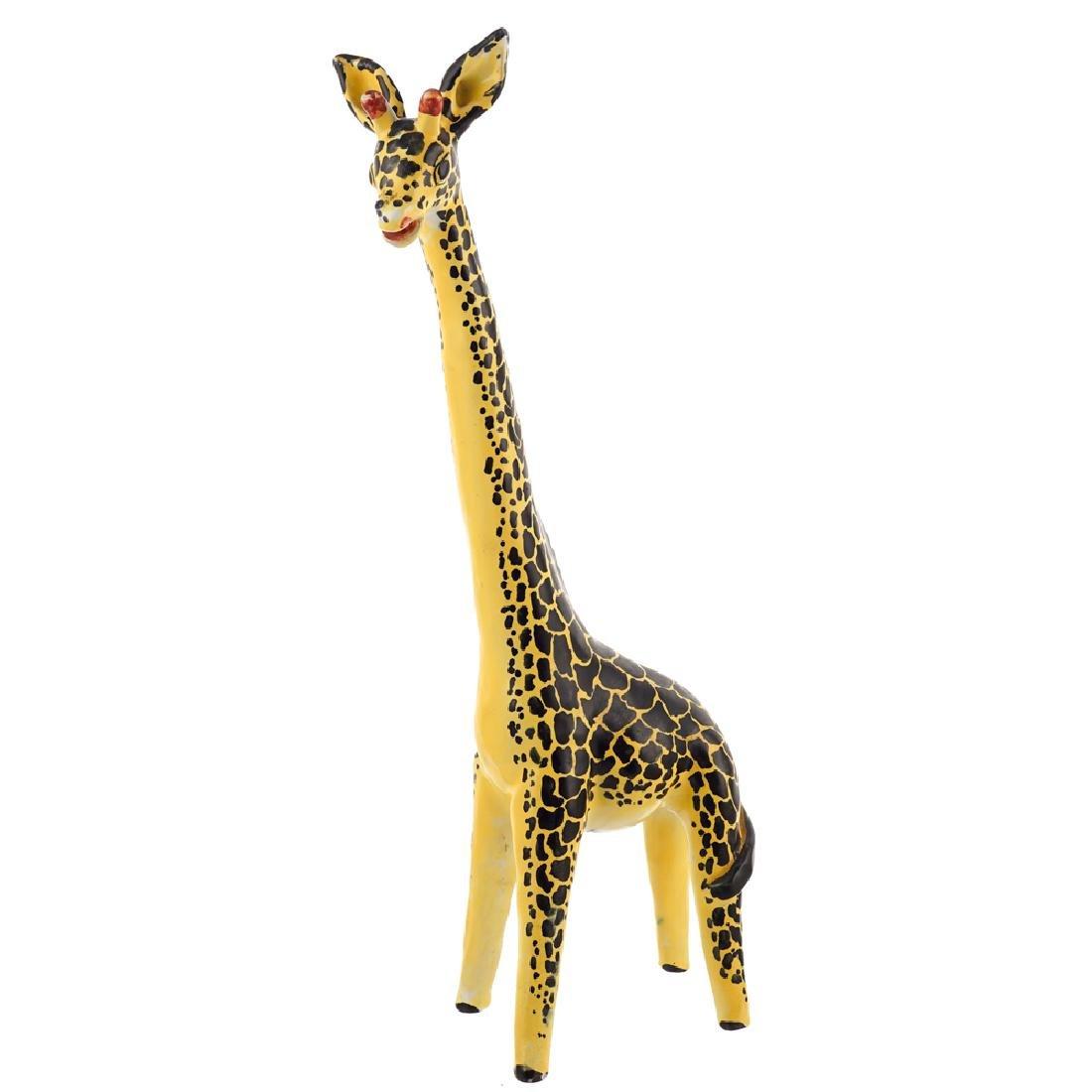 A ceramic giraffe scuplture Cava dei Tirreni 20th