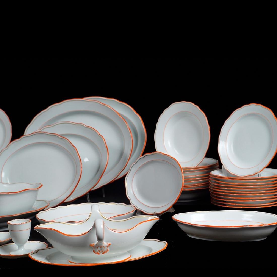 A Meissen porcelain service (68) 1924 - 1934 - 2