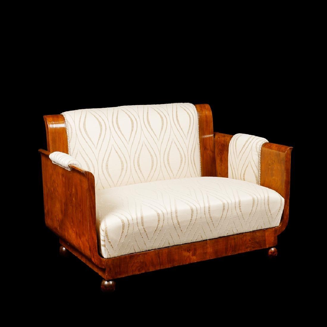 A Decò sofa France early 20th century 76x110x69 cm. - 2