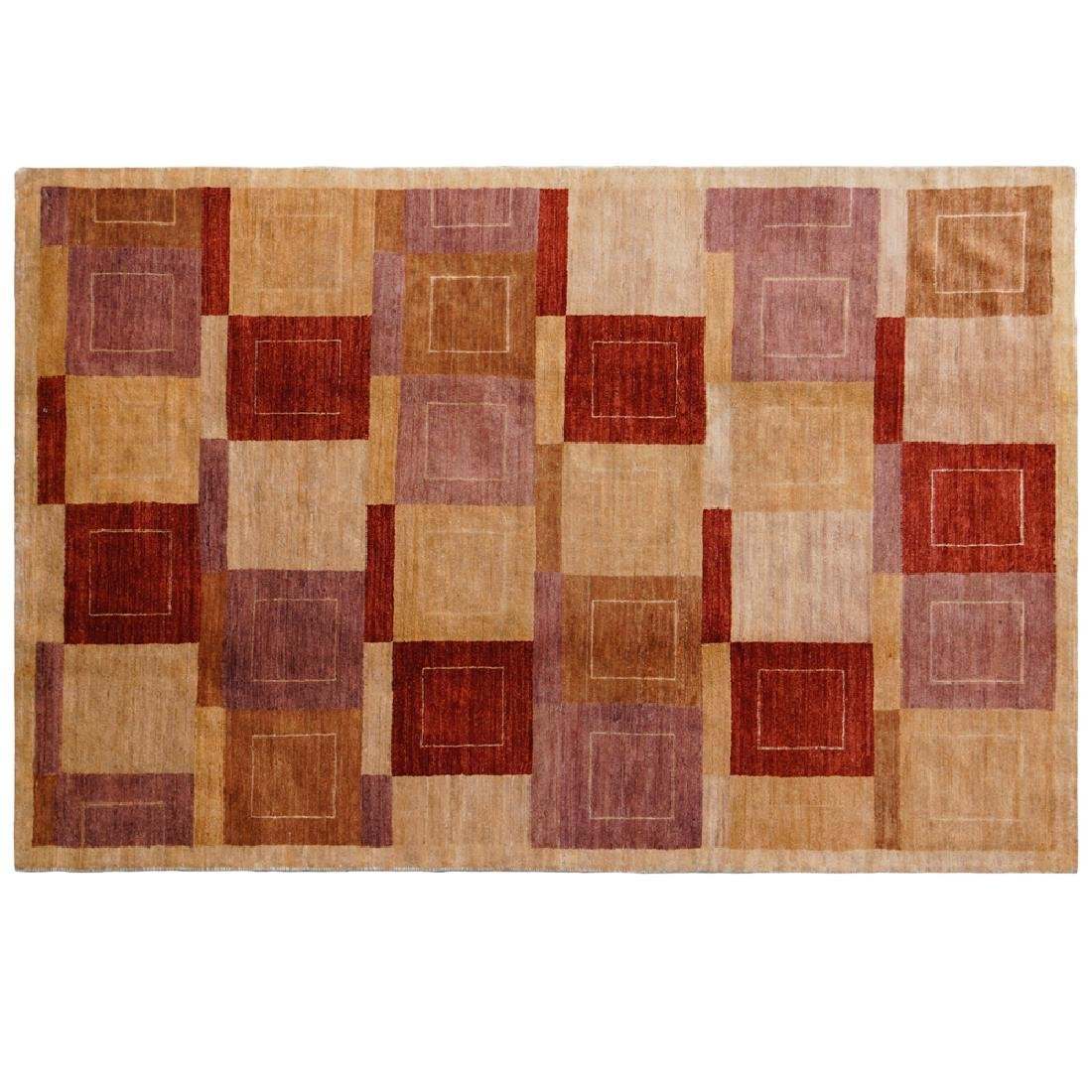 Gabbeh decorative carpet Pakistan 20th century