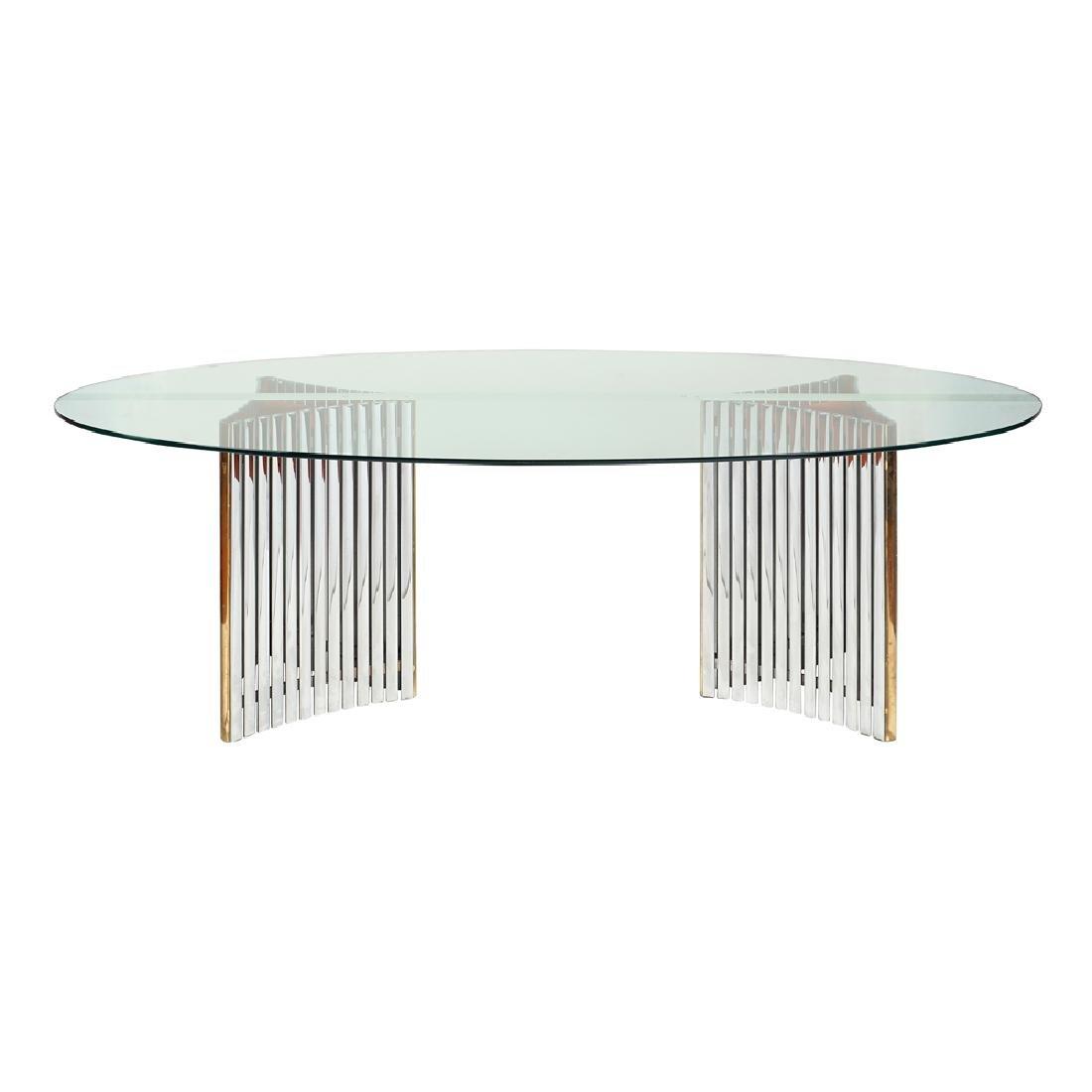 Centerpiece design table 20th century 72x238x110 cm.
