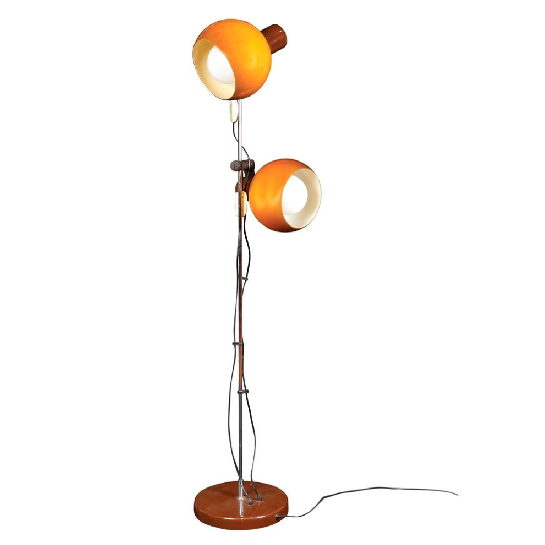 A design floor lamp 20th century h. 150 cm.