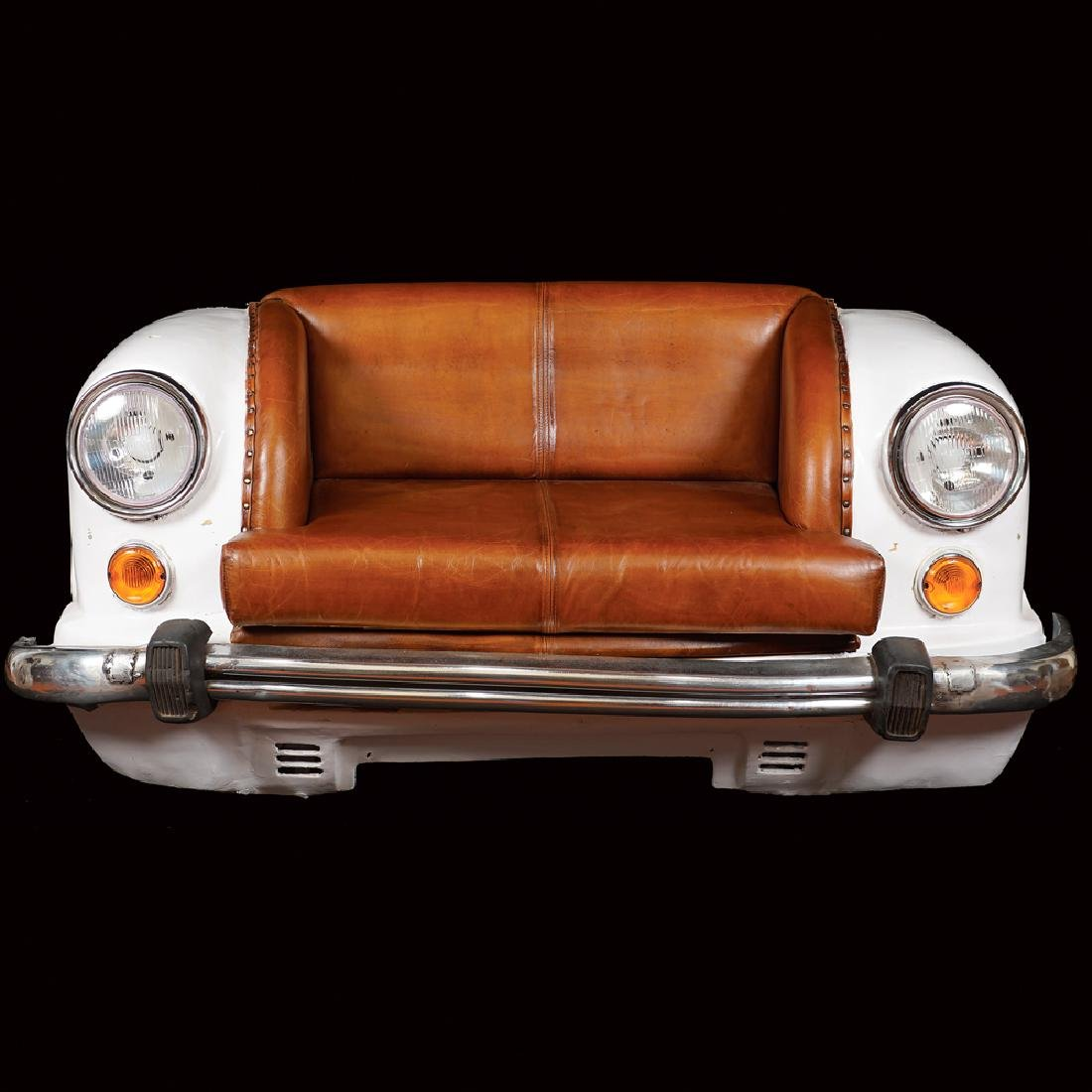 Fiat 850 sofa 20th century 75x150x80 cm.
