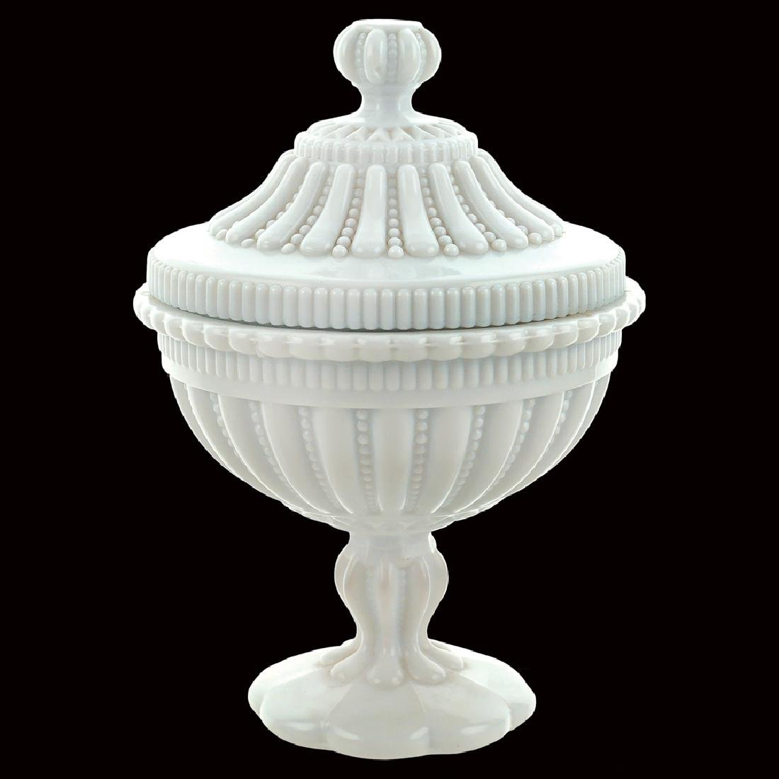 Cup with lid Italy 20th century 23x16 cm.