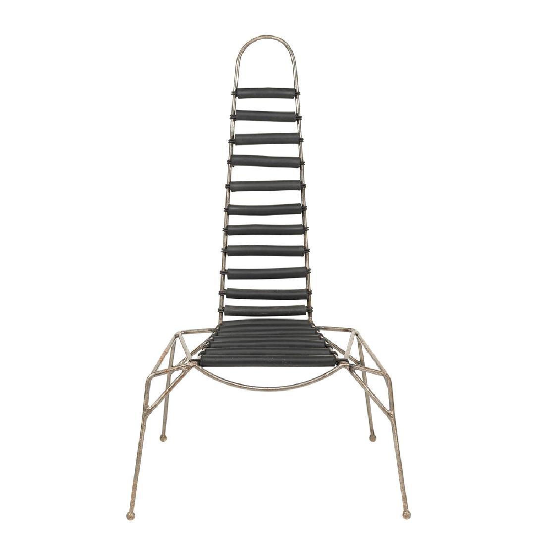 """Throne"" chair France 20th century 135x68x41 cm."