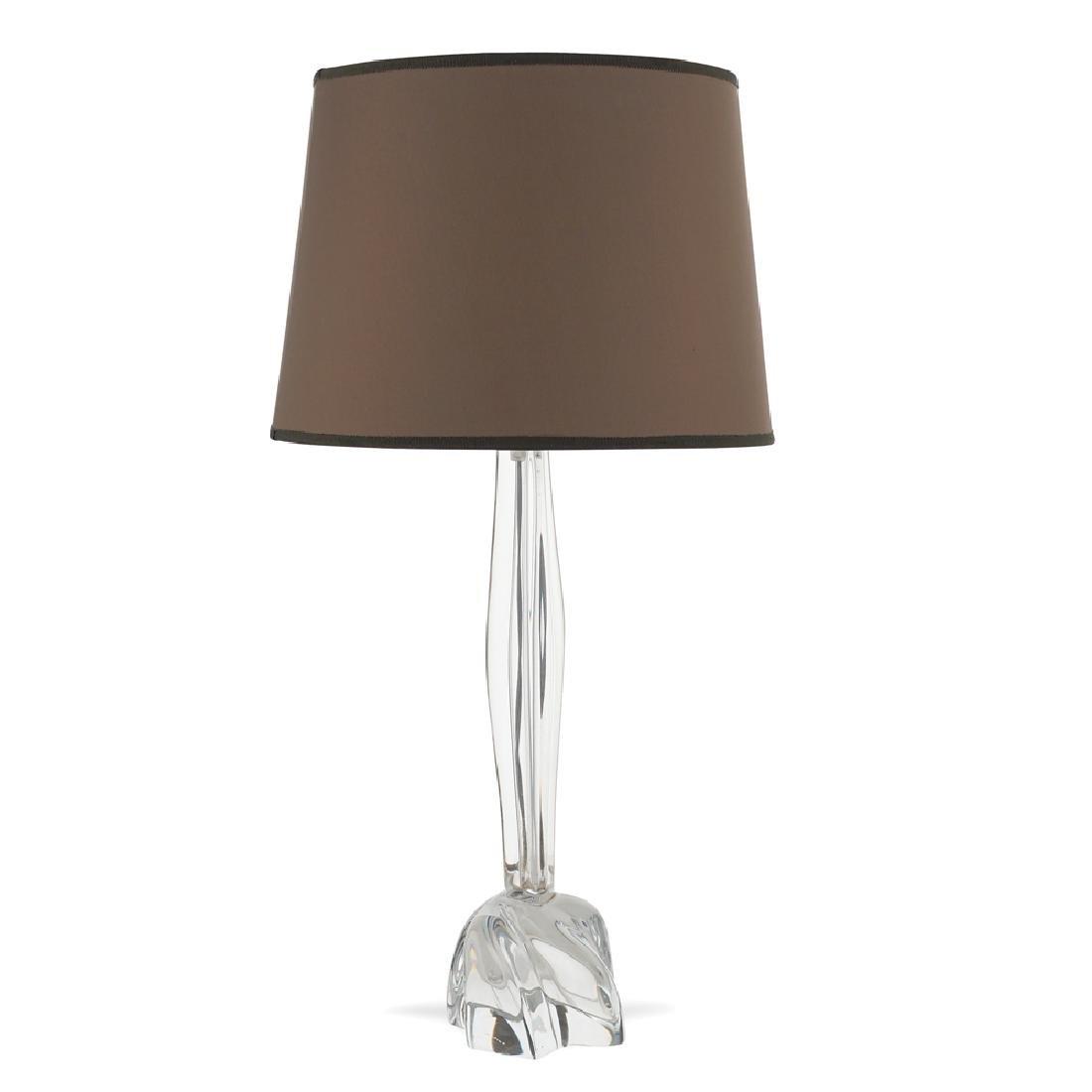 Daum table lamp France 20th century h. 58 cm.
