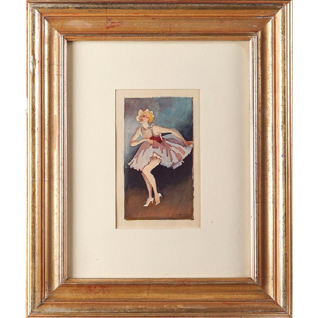 Alfonso Amorelli Palermo 1898 - 1969 16x9 cm.
