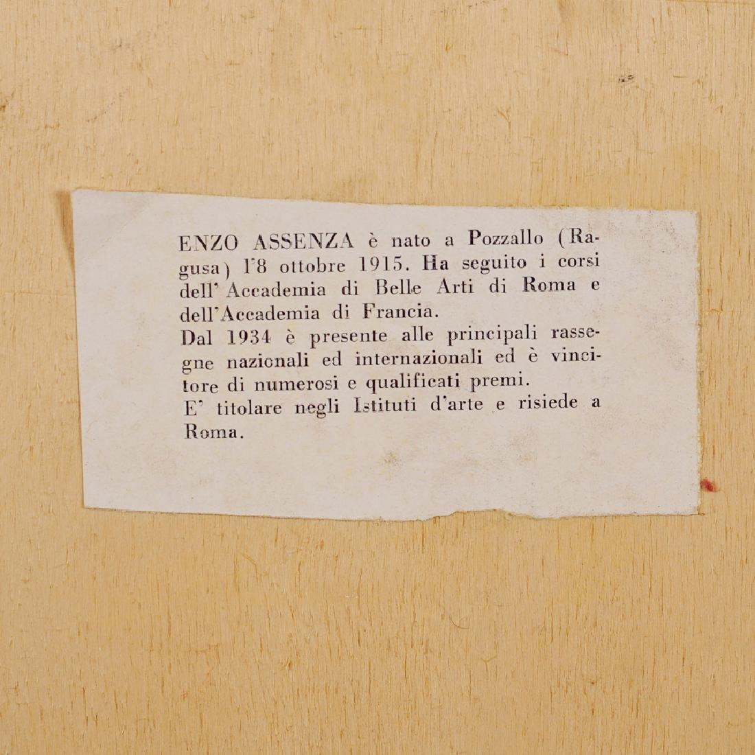 Enzo Assenza Pozzallo 1915 - Roma 1981 54x43 cm. - 3