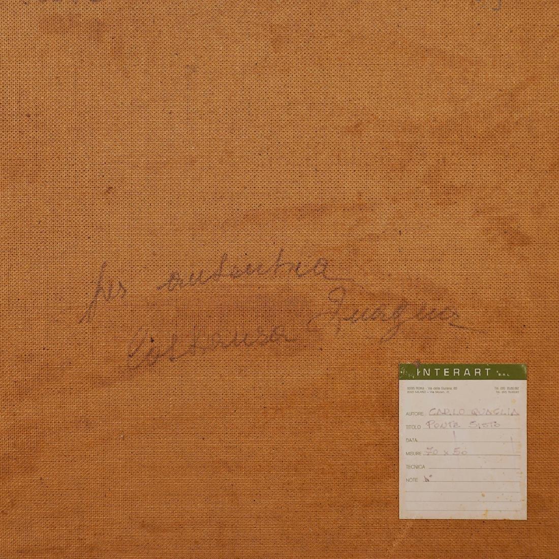 Carlo Quaglia Terni 1903 - Roma 1970 70x50 cm. - 3