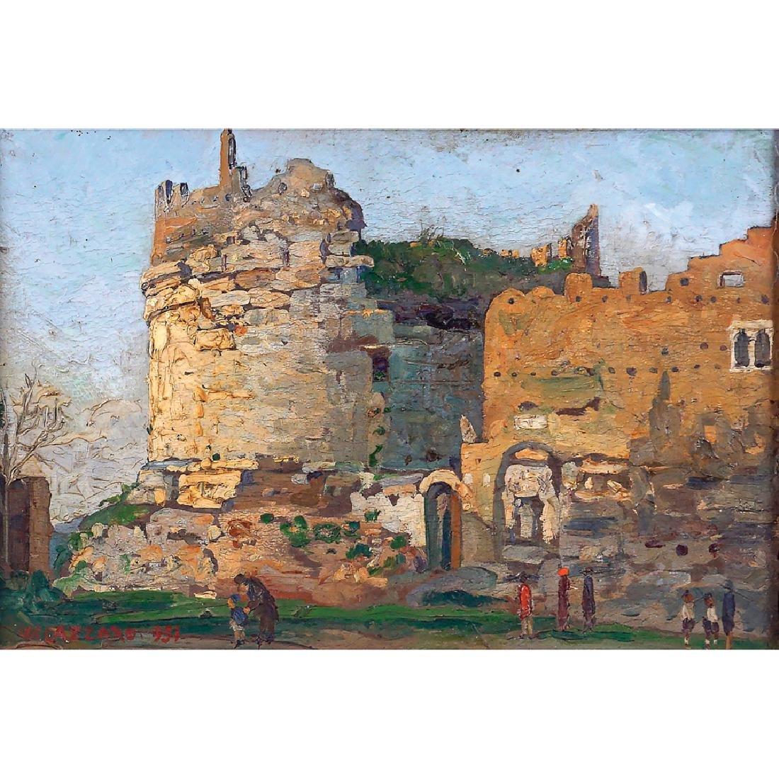 Walter Lazzaro Roma 1914-Milano 1989 19x28 cm.