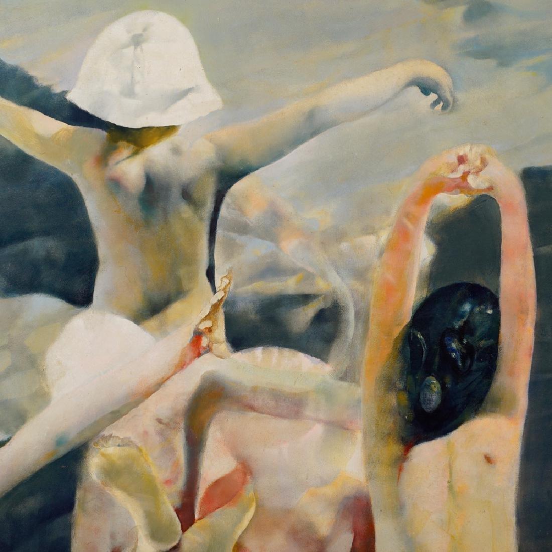Renzo Vespignani Roma 1924 - 2001 170x195 cm. - 2