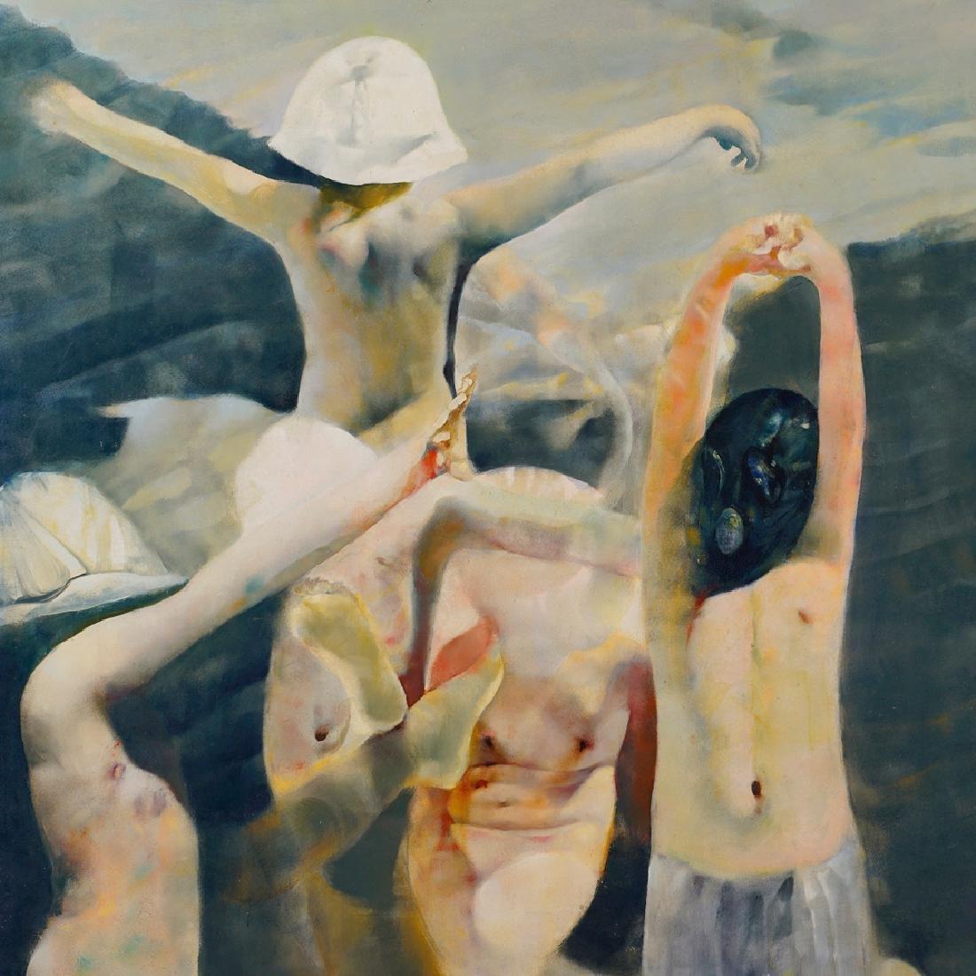 Renzo Vespignani Roma 1924 - 2001 170x195 cm. - 3