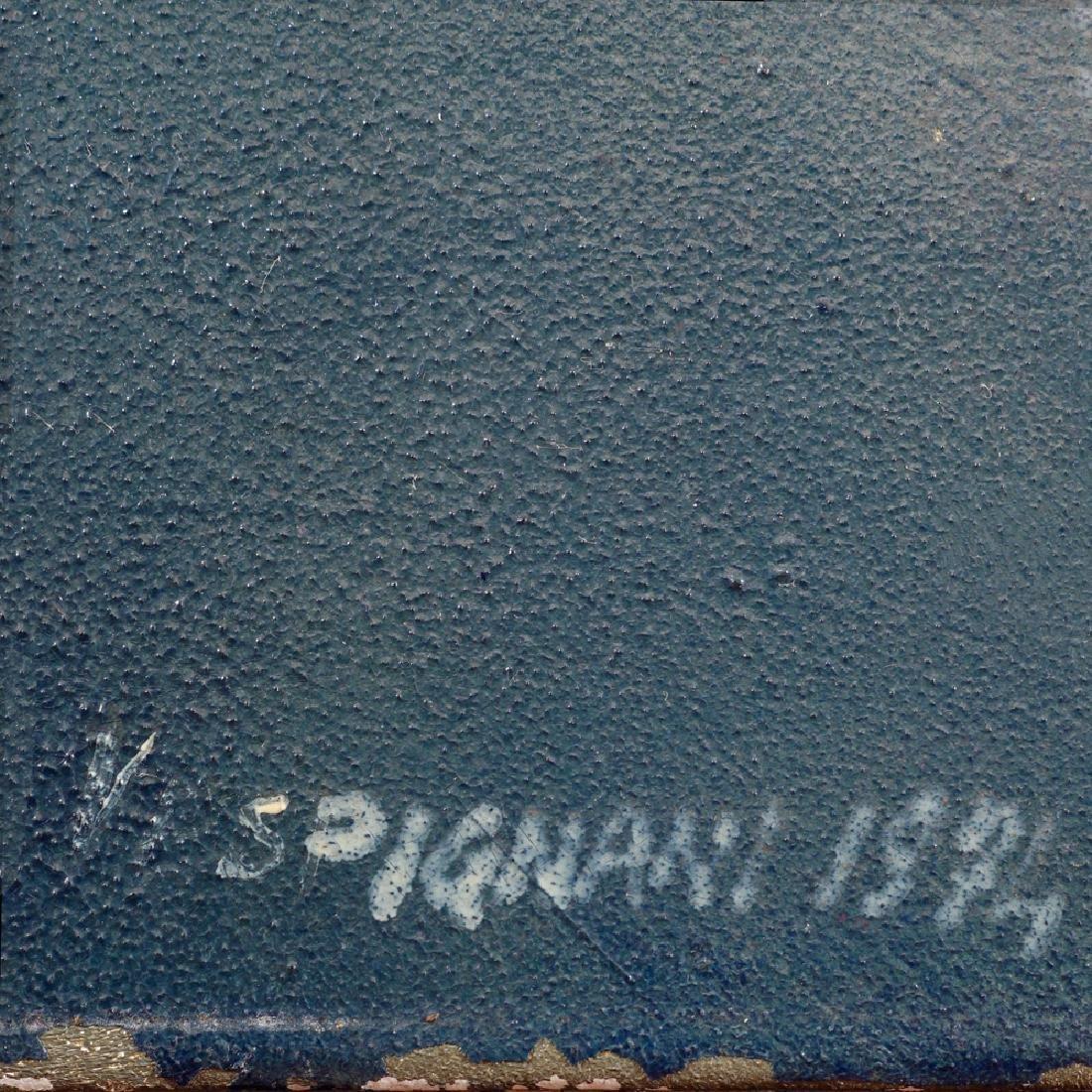 Renzo Vespignani Roma 1924 - 2001 170x195 cm. - 6