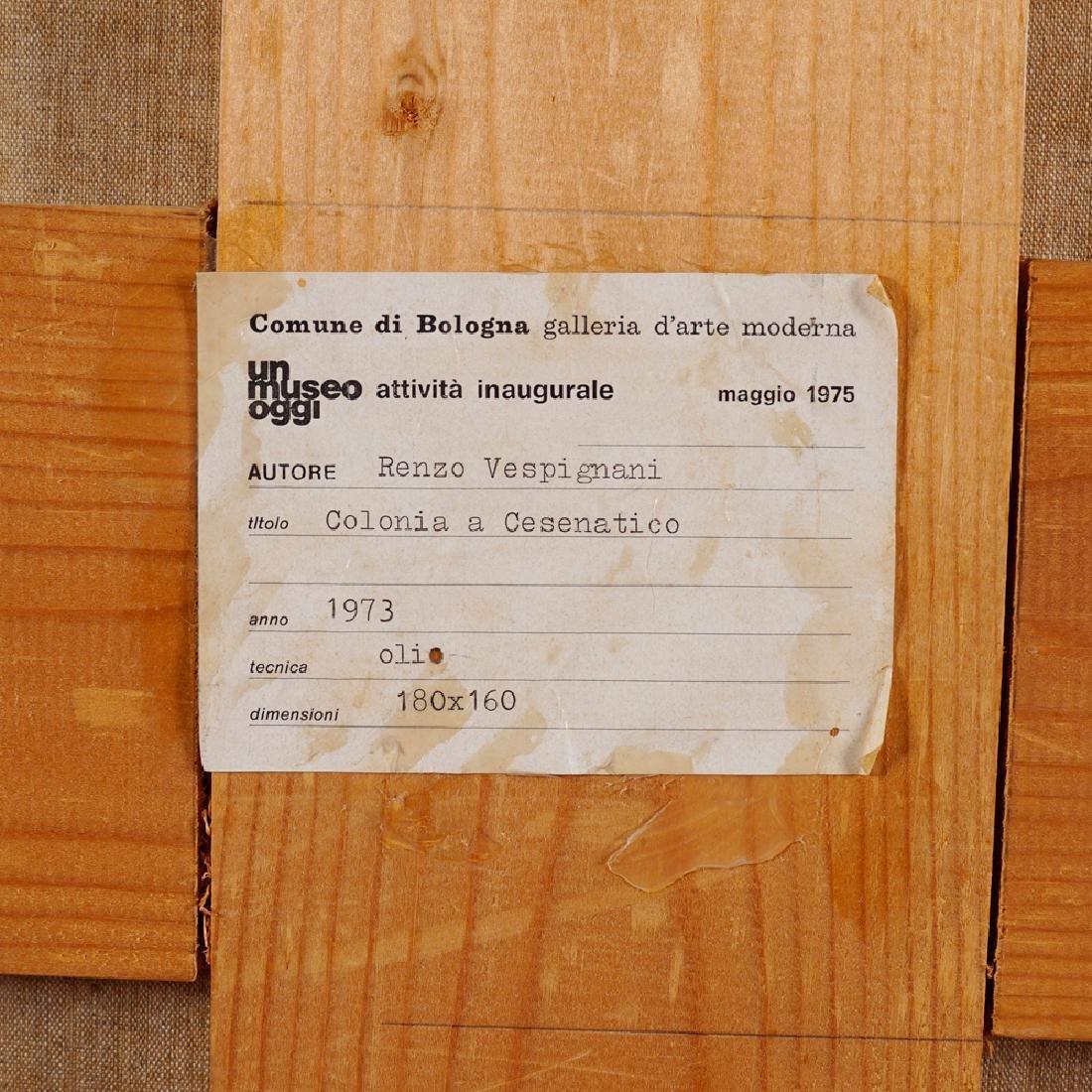 Renzo Vespignani Roma 1924 - 2001 170x195 cm. - 8