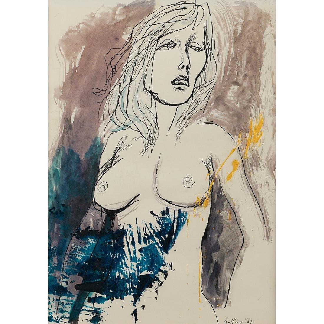 Renato Guttuso Bagheria 1911 - Roma 1987 35.7x26 cm.