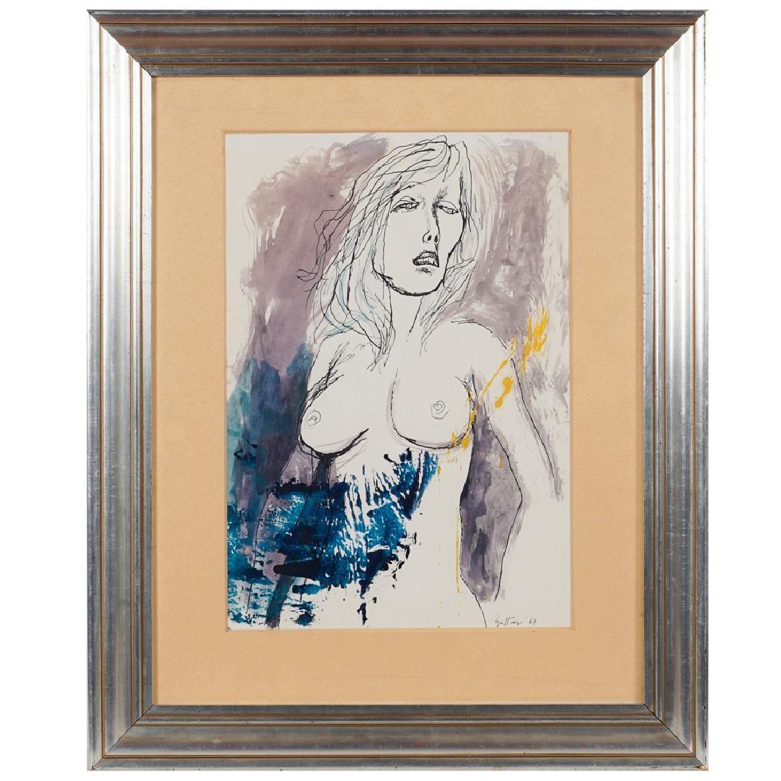 Renato Guttuso Bagheria 1911 - Roma 1987 35.7x26 cm. - 2