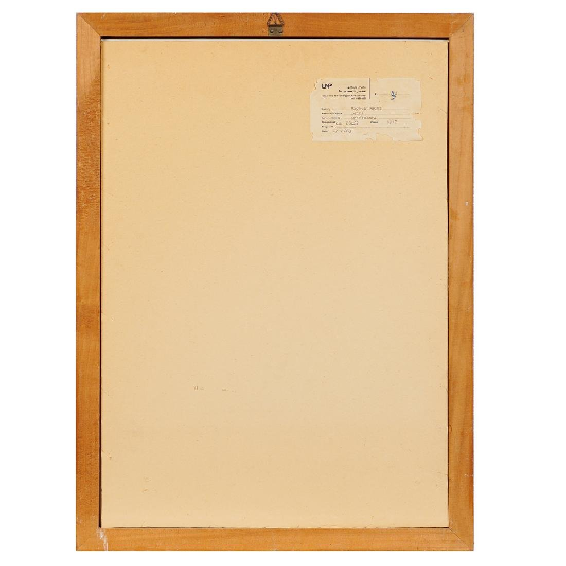 George Grosz Berlino 1893 - 1959 27.9x19.9 cm. - 2