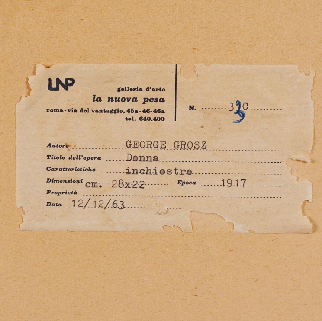 George Grosz Berlino 1893 - 1959 27.9x19.9 cm. - 3