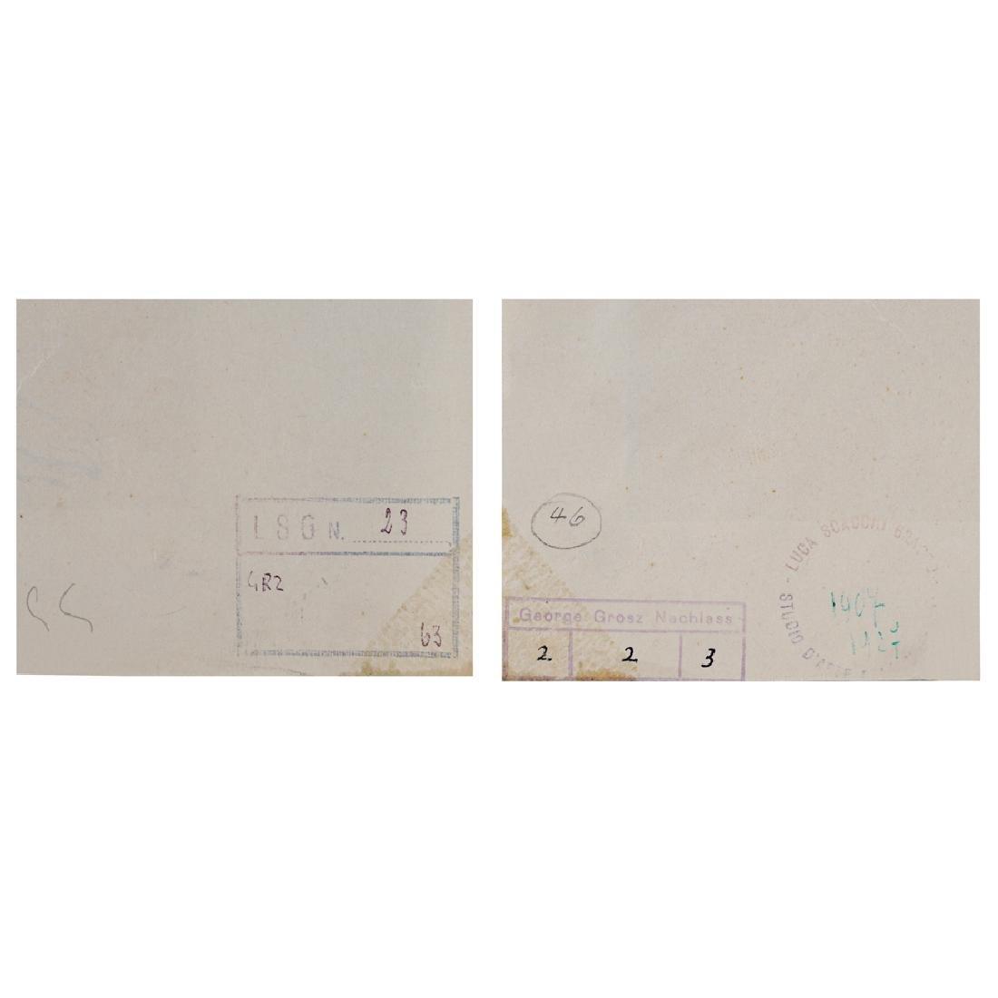 George Grosz Berlino 1893 - 1959 27.9x19.9 cm. - 4