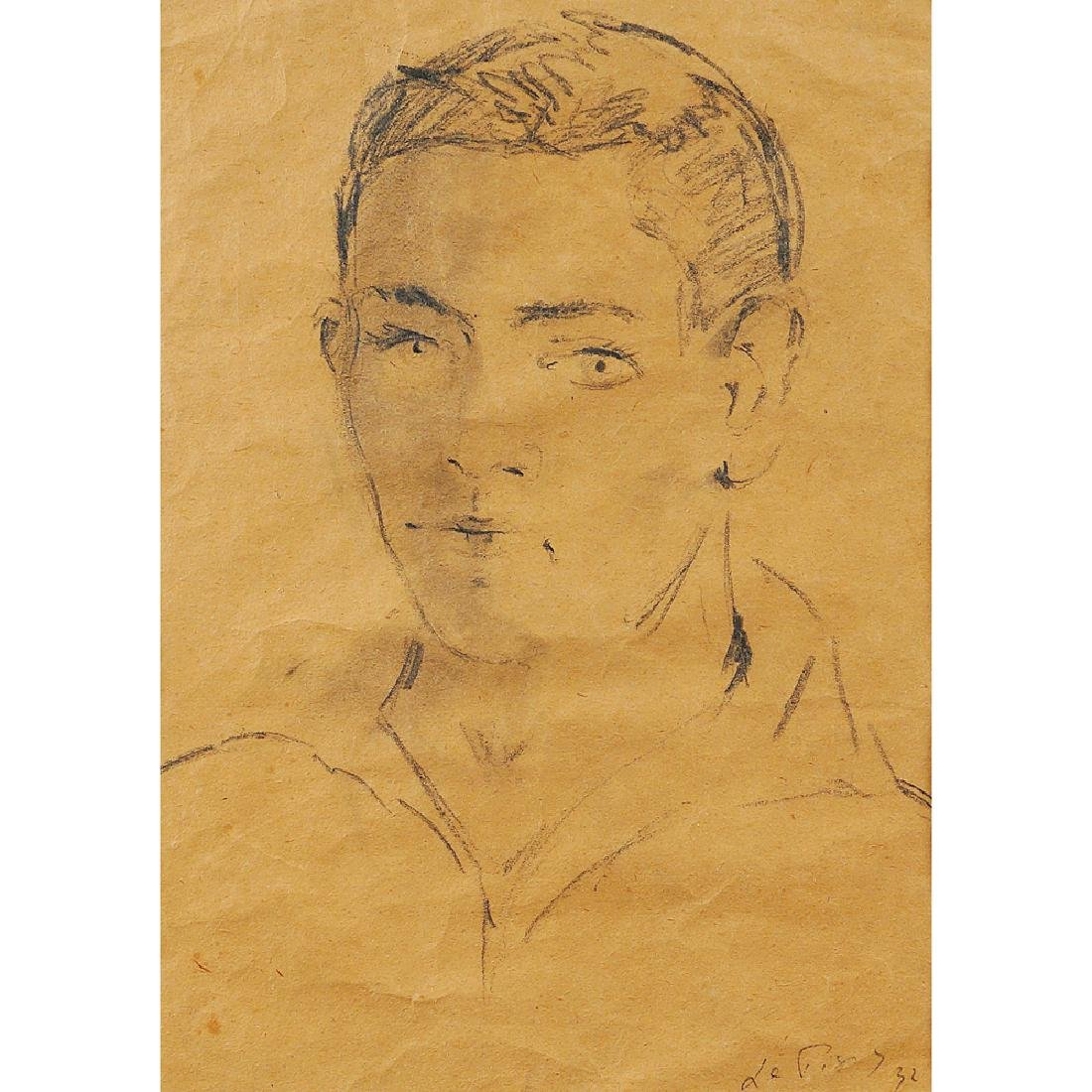 Filippo De Pisis Ferrara 1896 - Milano 1956 37.6x24.5