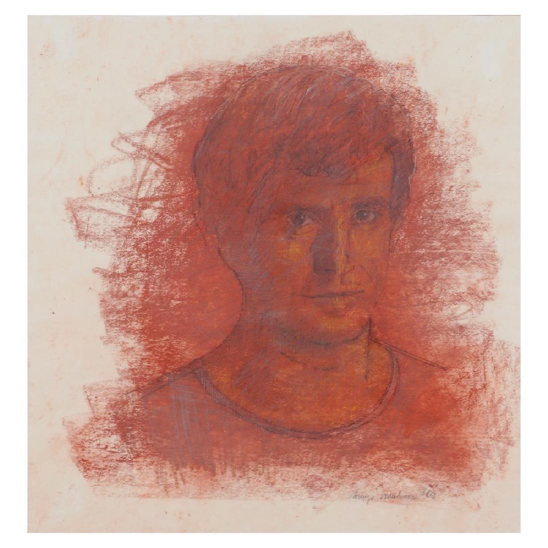 Lorenzo Tornabuoni Roma 1934 - 2004 42.5x40 cm.