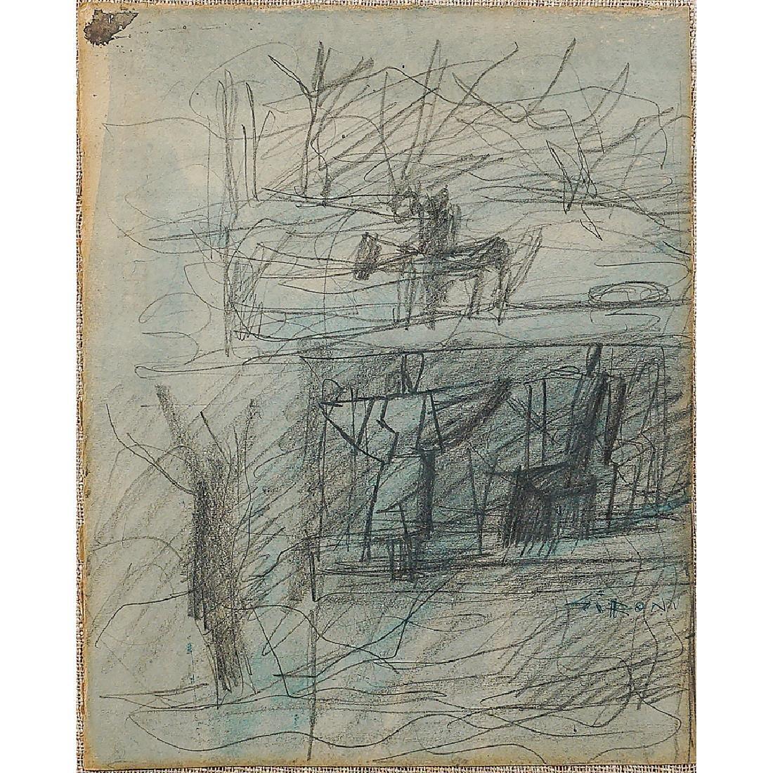Mario Sironi Sassari 1885 - Milano 1961 24 7x19 7 cm.