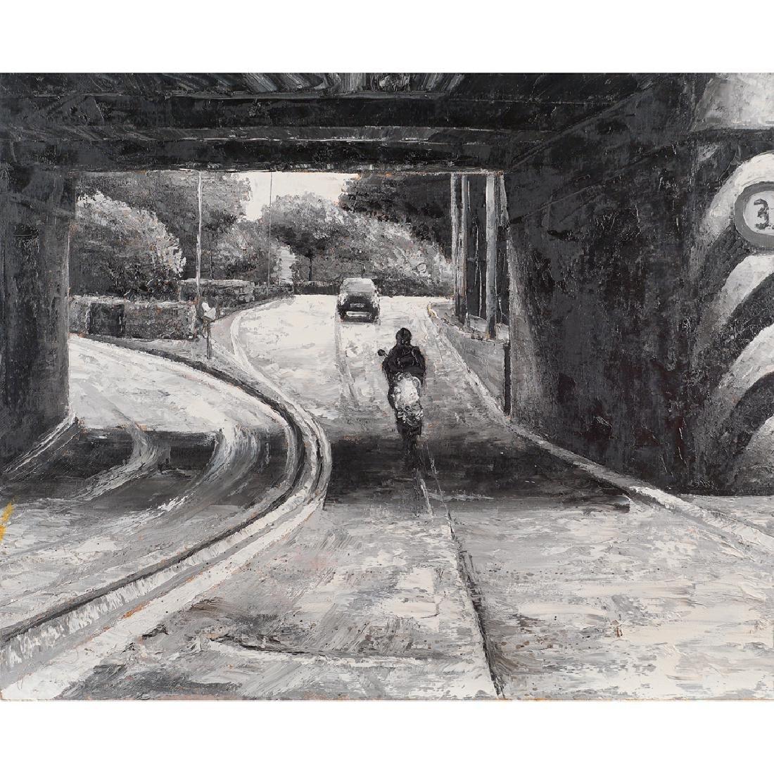 Davide Frisoni Rimini 1965 80x100 cm.