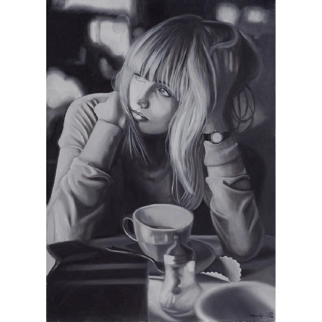 Maria Giovanna Peri Palermo 1974 70x50 cm.