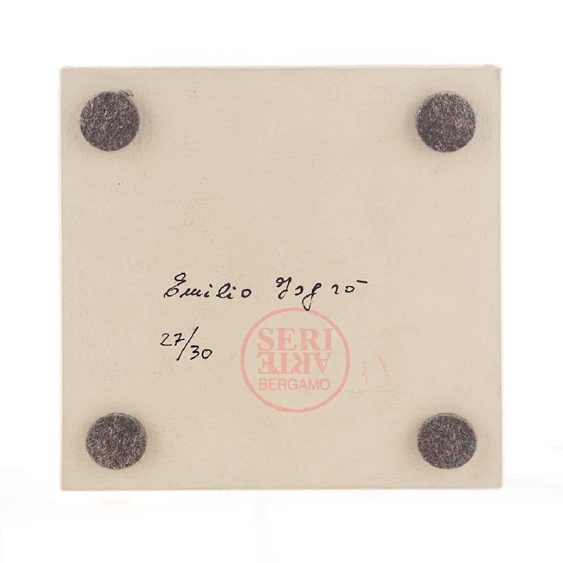 Emilio Isgro' Barcellona di Sicilia 1937 15x15x24 cm. - 3