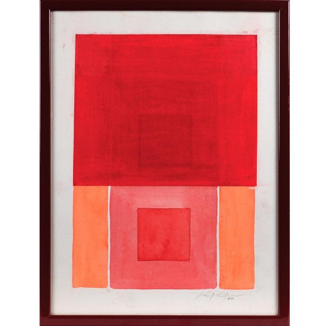 Lucilla Caporilli Ferro Roma 1965 - 2013 42x32 cm.