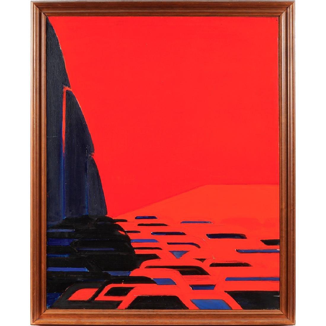 Titina Maselli Roma 1924 - 2005 92x73 cm.