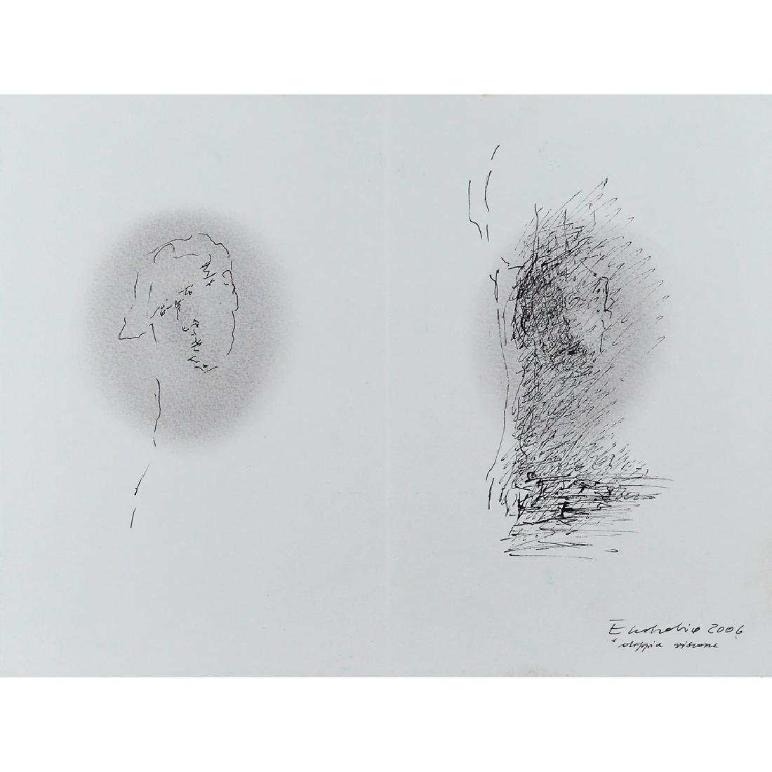 Maril— Eustachio Merano 1934 23.8x31.8 cm.