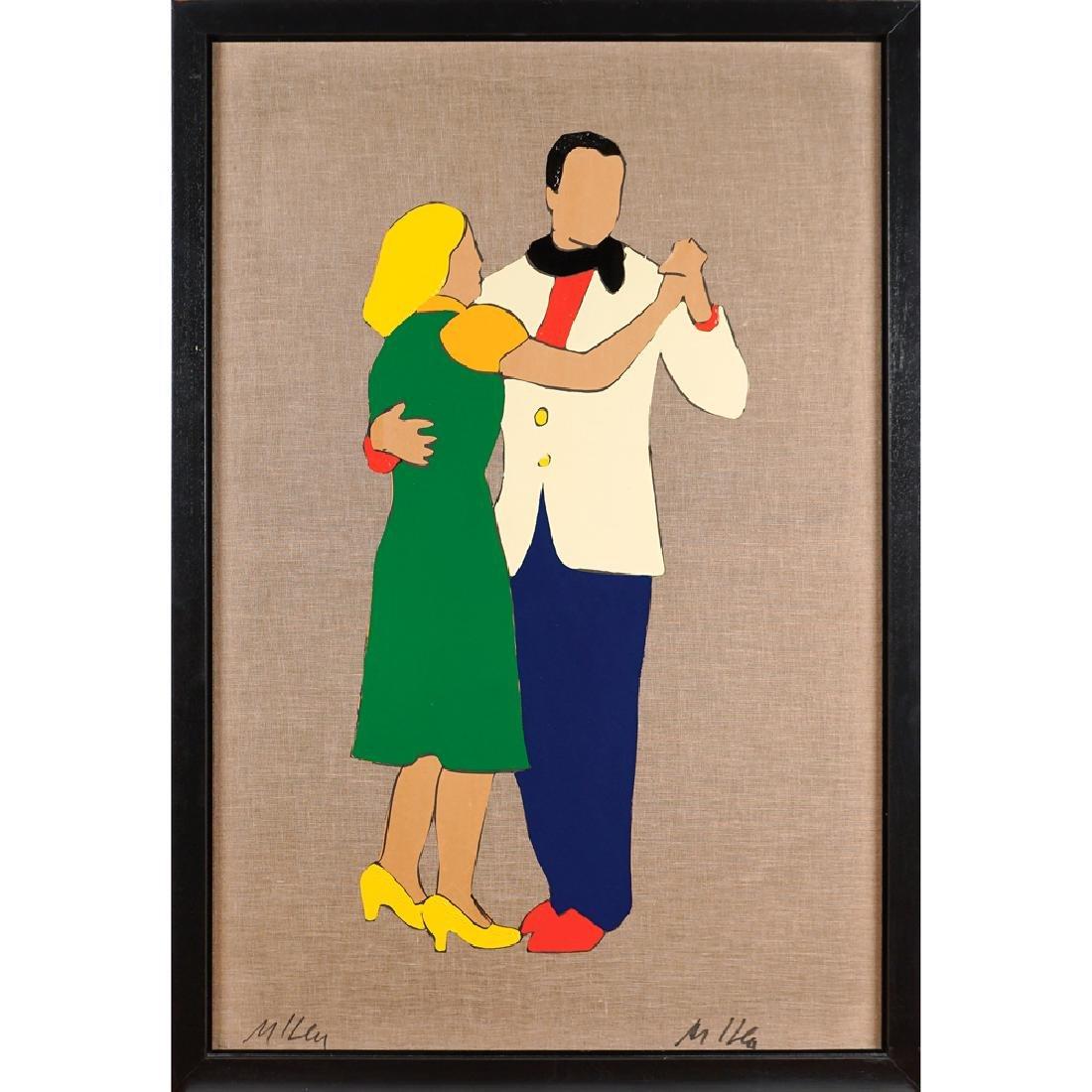 Marco Lodola Dorno 1955 150x100 cm.