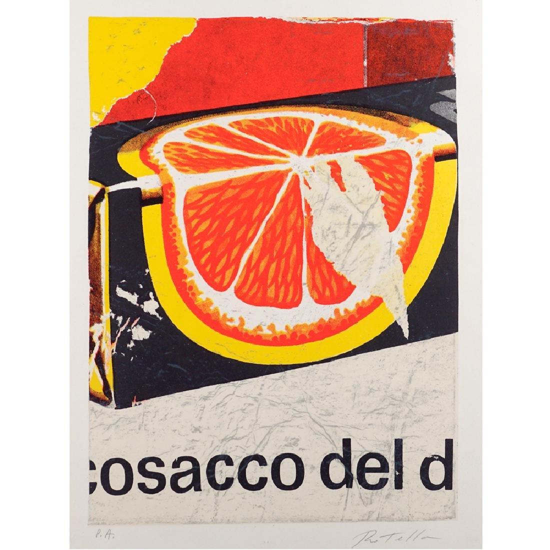 Mimmo Rotella Catanzaro 1918 - Milano 2006 70x50 cm.