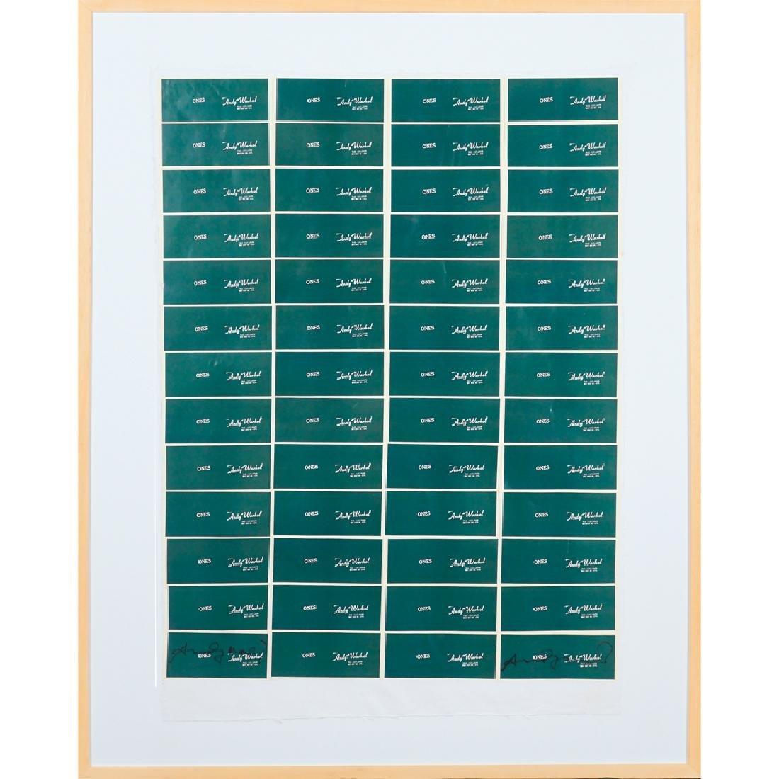 Andy Warhol Pittsburgh 1928 1928 -New York 1987 93x60cm