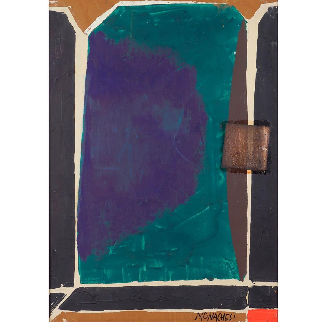 Sante Monachesi Macerata 1910 - Roma 1991 70x50 cm.