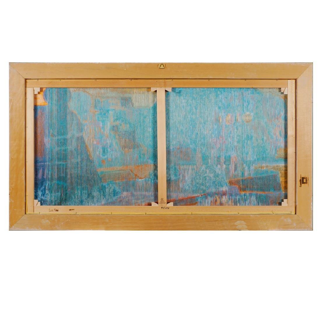 Salvatore Fiume Cosimo 1915 - Milano 1997 70x140 cm. - 2