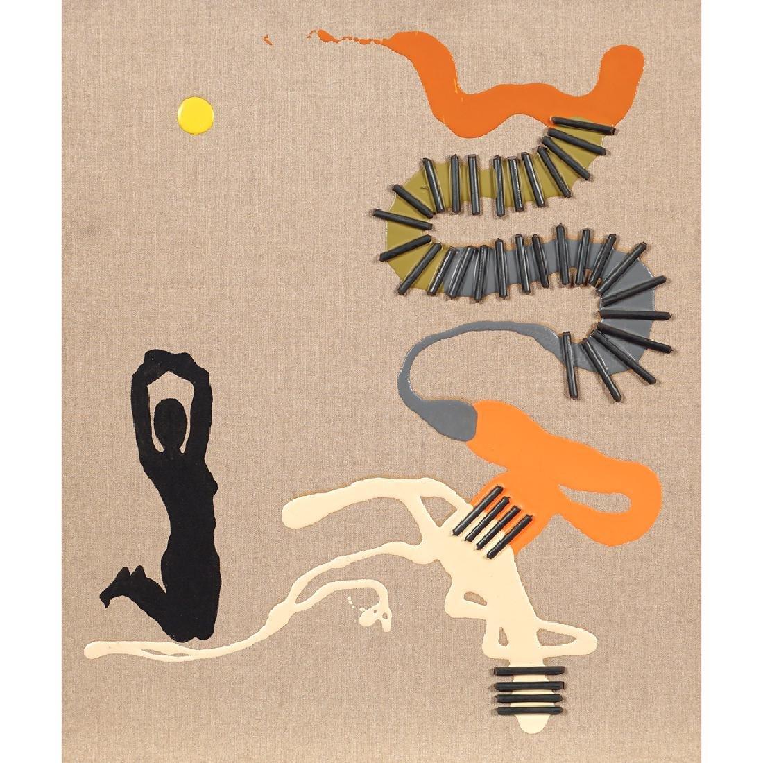 Mauro Martoriati Roma 1957 60x25 cm.