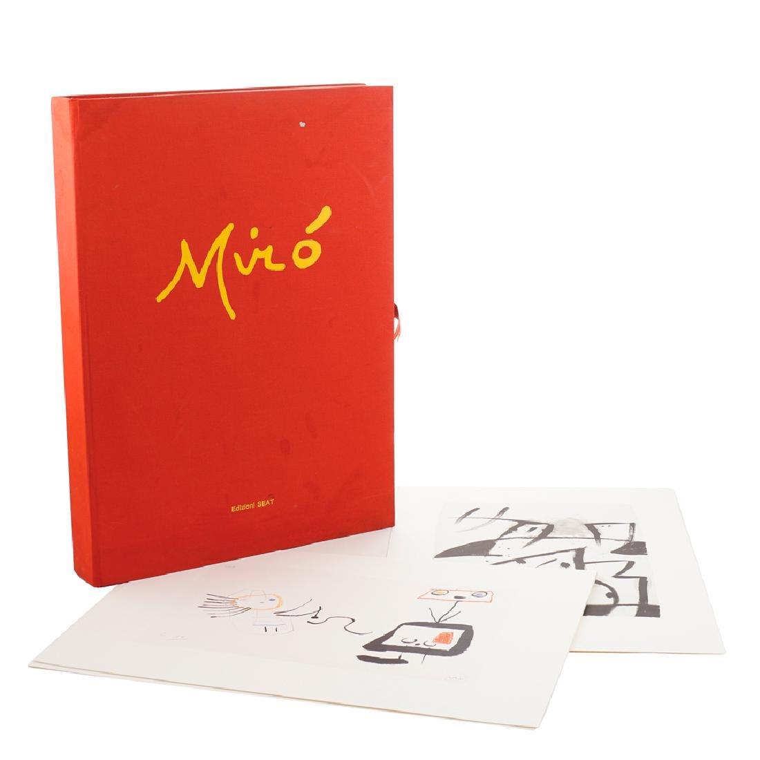 Mirò Folder Turin 1982 55x40x6 cm.