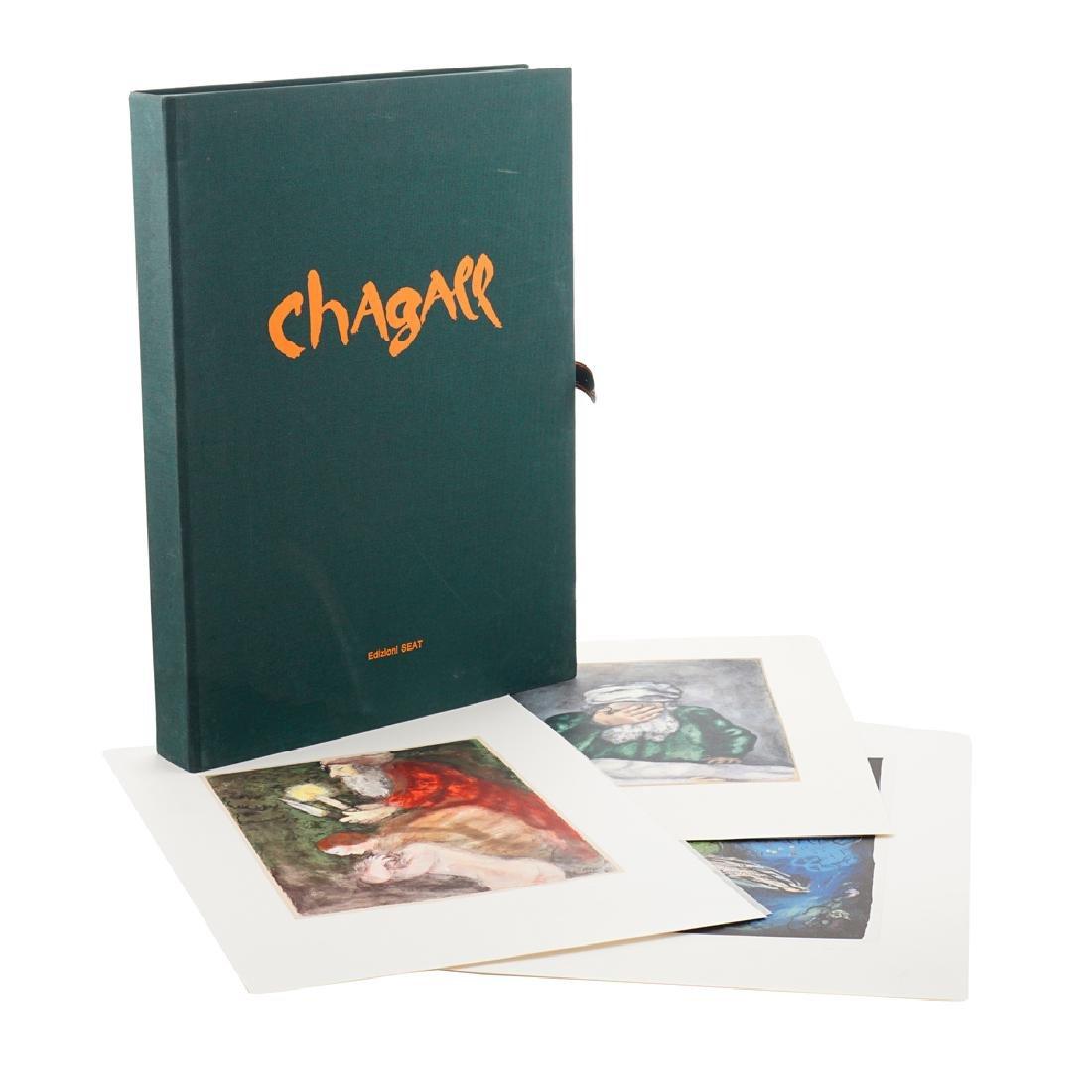 Chagall Folder Turin 1986 55x40x6 cm.