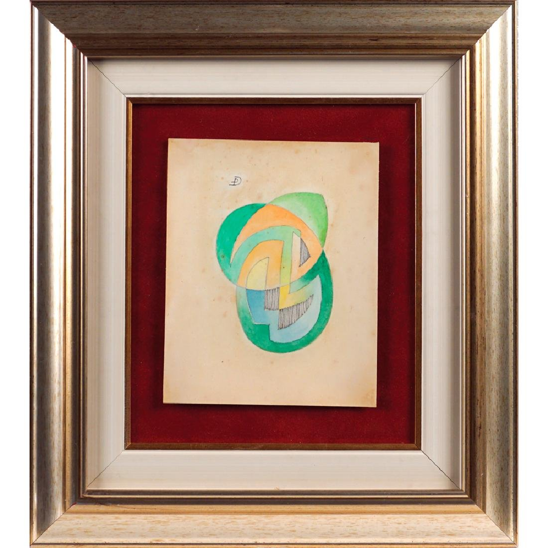 Federico Pfister Napoli 1898 - Roma 1975 17 7x14.3 cm.