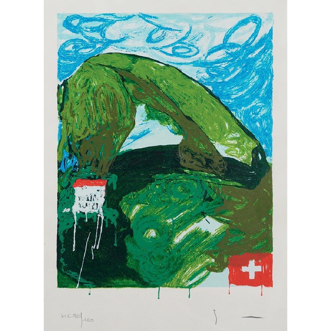 Mario Schifano Homs 1934 - Roma 1998 30x20 cm.