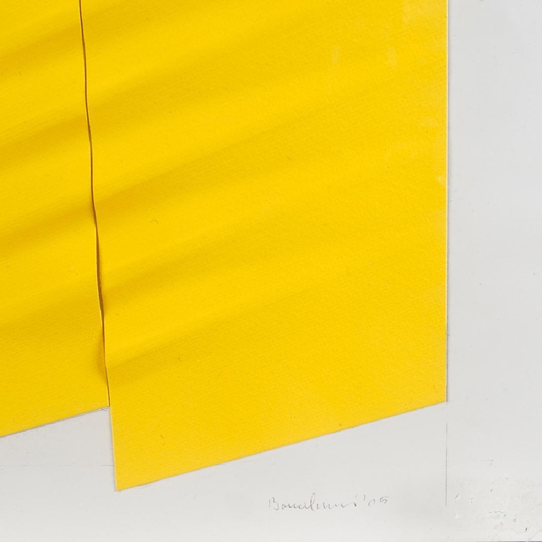 Agostino Bonalumi Vimercate 1935 - Desio 2013 50x70 cm. - 2